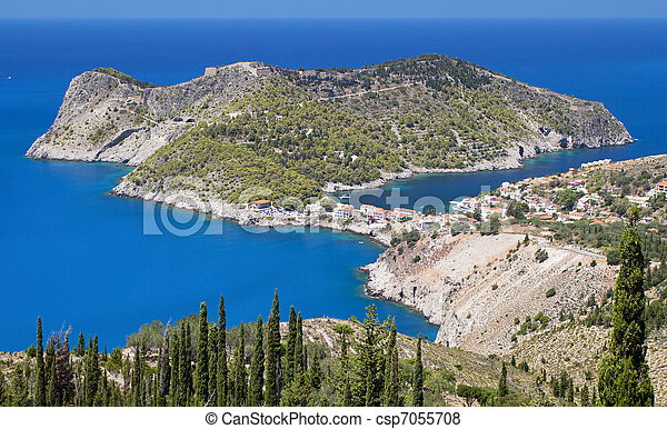 Kefalonia island in Greece - csp7055708