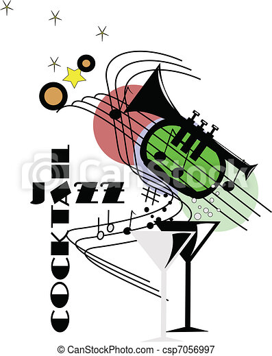 cocktail jazz - csp7056997