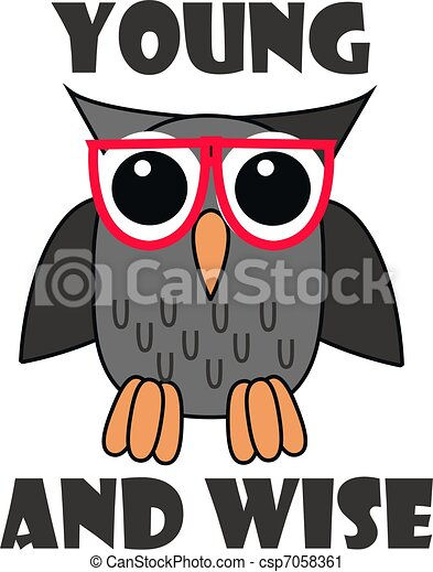 clipart of wise owl csp7058361 search clip art Whimsical Owl Clip Art Free free owl clipart downloads