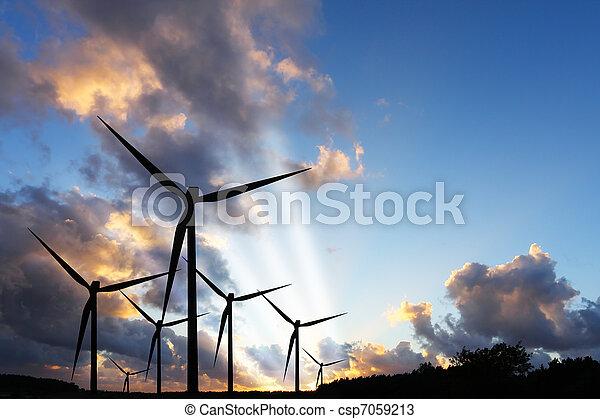Wind Power - csp7059213