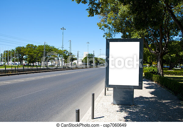 Empty billboard - csp7060649