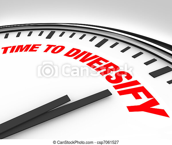Time to Diversify Clock Manage Investment Risk - csp7061527