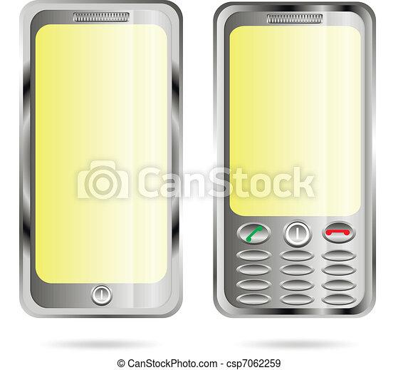 2 Phones - csp7062259