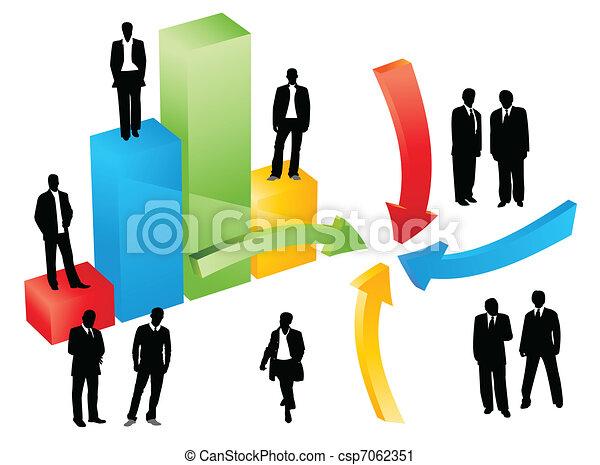 business graph - csp7062351