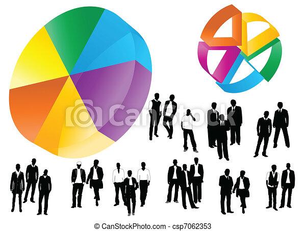 business graph - csp7062353