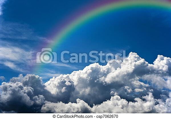 Cloudy sky - csp7062670