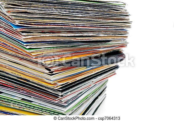 vinyl records - csp7064313