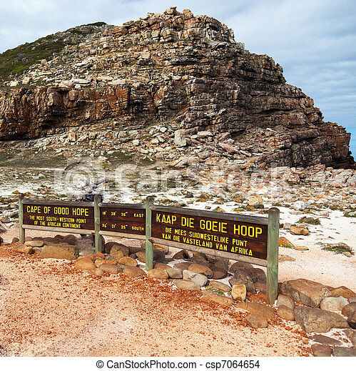 Cape of Good Hope in South Africa - csp7064654