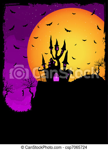 Haunted House Clip Art Free