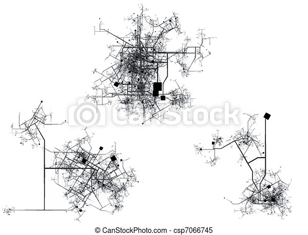 City map - csp7066745