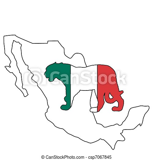 Jaguar Mexico - csp7067845