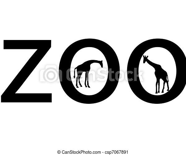 Zoo animals - csp7067891