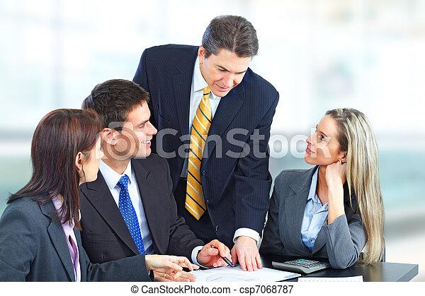 Business people team - csp7068787