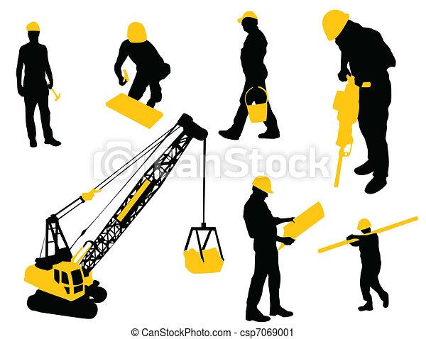 Vector Clip Art of Under construction - Construction ...