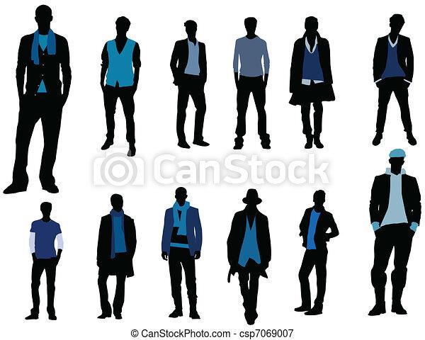 Man fashion - csp7069007