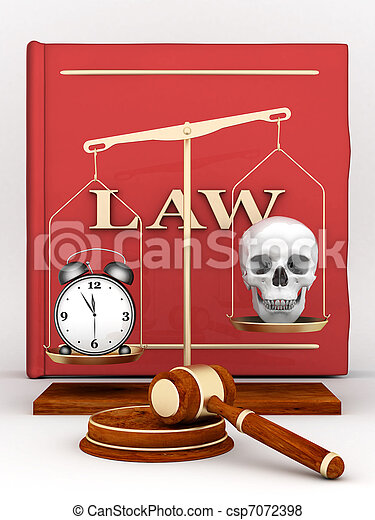 judicial paraphernalia - csp7072398