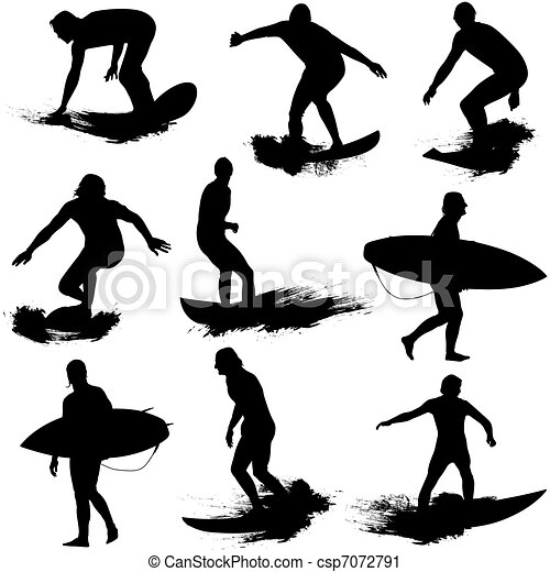 Surfing Illustrations and Clipart. 28,312 Surfing royalty free ...