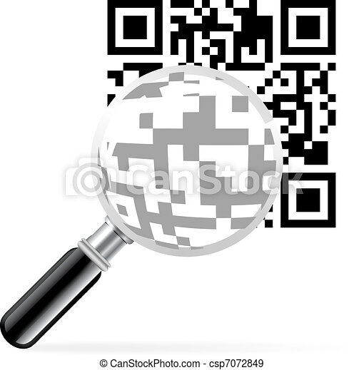QR code with loupe - csp7072849