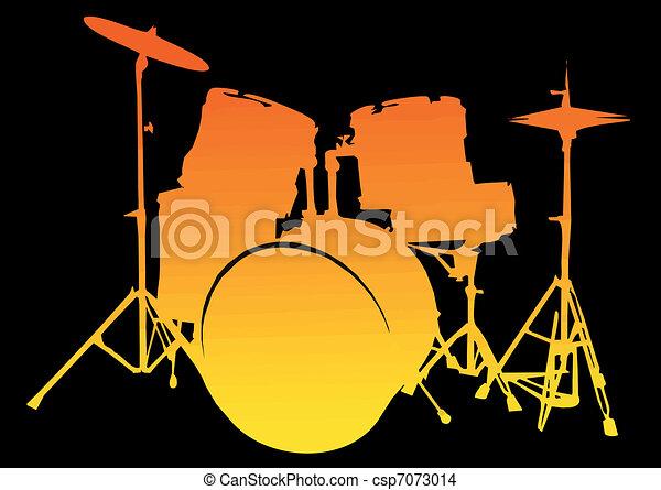Drum-Set - csp7073014