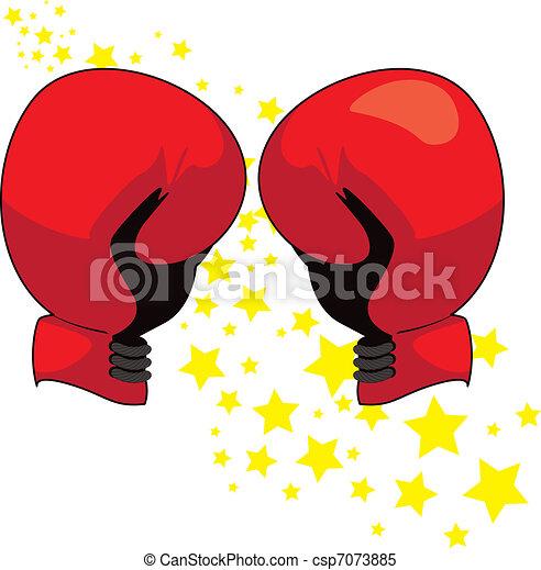 comment dessiner des gants de boxe
