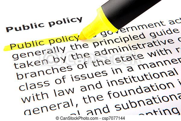 政策, 公眾 - csp7077144