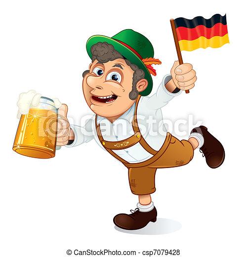 German Man - csp7079428