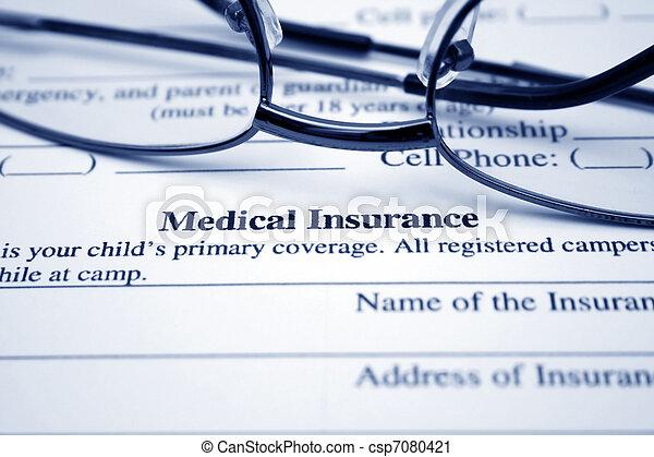 medico, assicurazione - csp7080421
