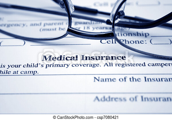 médico, seguro - csp7080421