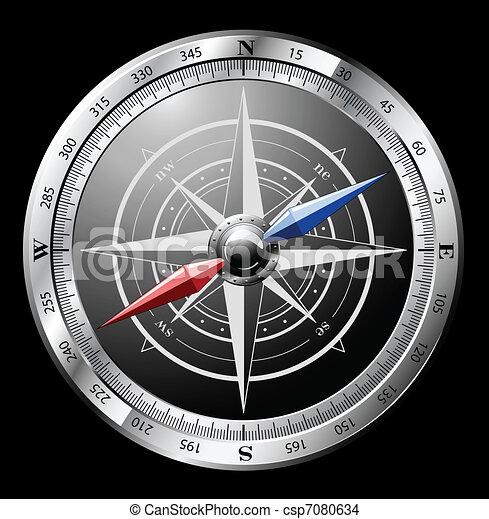 Steel Compass - csp7080634