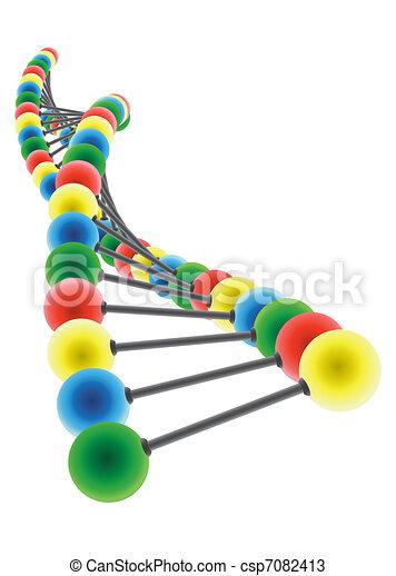 DNA model - csp7082413