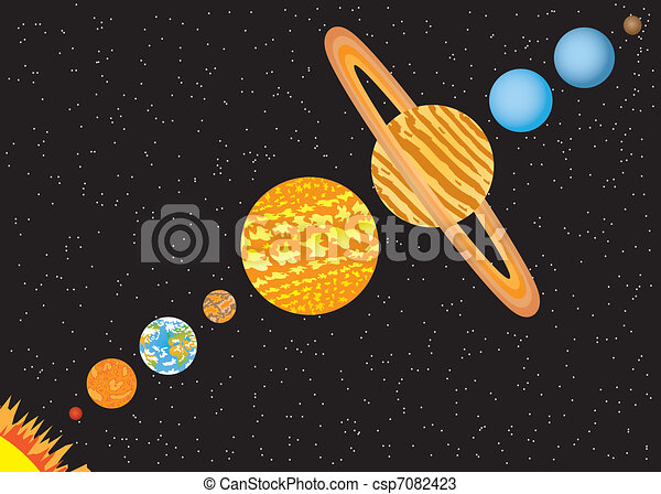 The 9 Planets Clip Art (page 2) - Pics about space