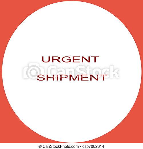 Urgent Shipment - csp7082614