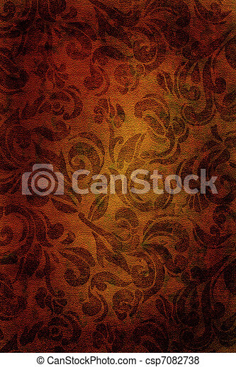 Vintage wallpaper background - csp7082738
