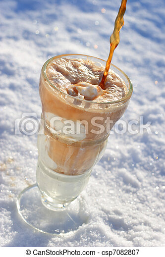 Ice Cream Float - csp7082807