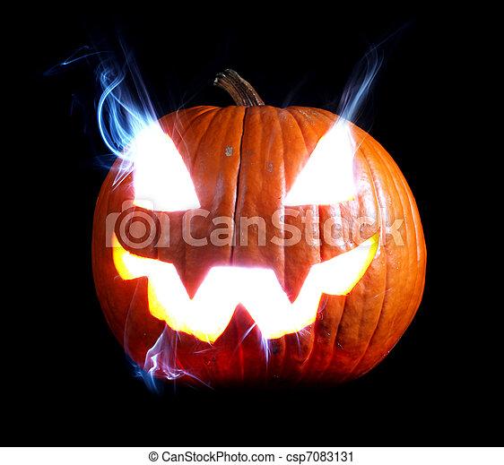 Jack-o'-lantern - csp7083131