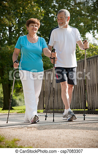 Nordic walking - csp7083307