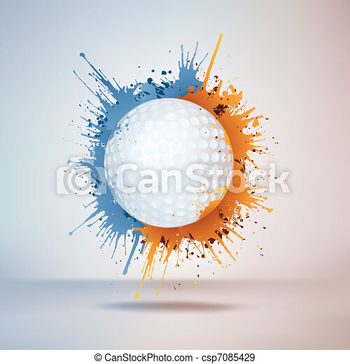 Golf Ball - csp7085429