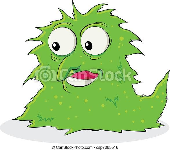 Virus Bacteria - csp7085516