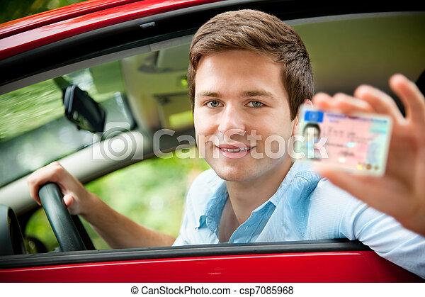 drivers license - csp7085968