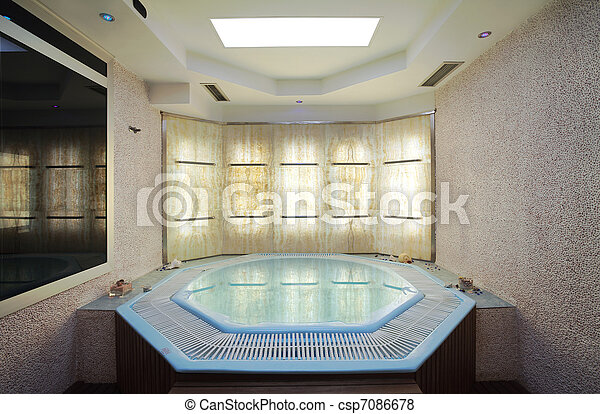 images de jacuzzi int rieur de a h tel jacuzzi moderne et csp7086678 recherchez. Black Bedroom Furniture Sets. Home Design Ideas