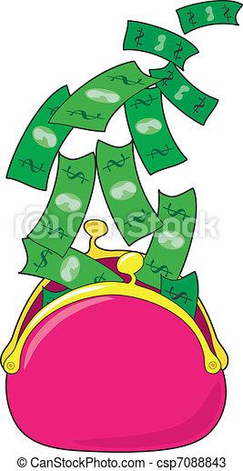 Money Purse - csp7088843