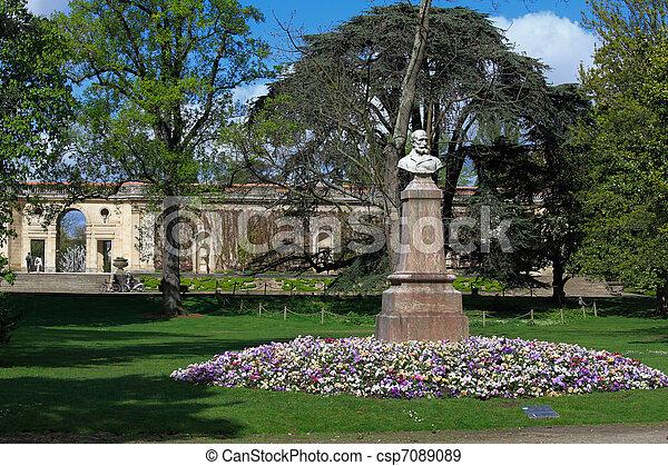 Stock photographs of jardin botanique public botanic for Jardin botanique bordeaux