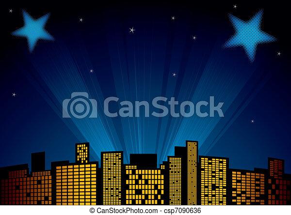Stars at sky - csp7090636