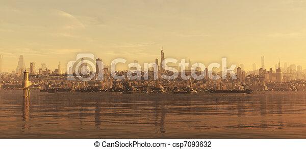 Future City Seaboard - csp7093632