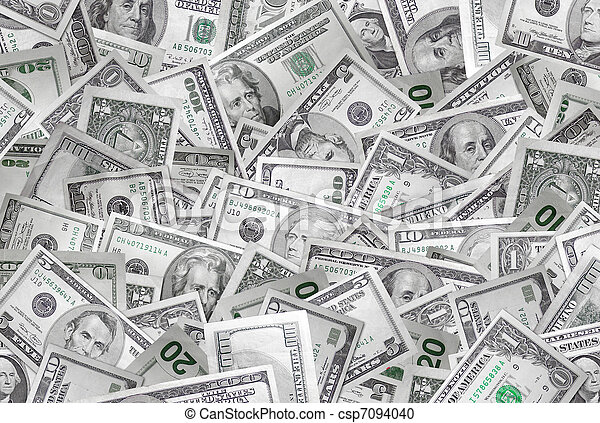 Money background - csp7094040