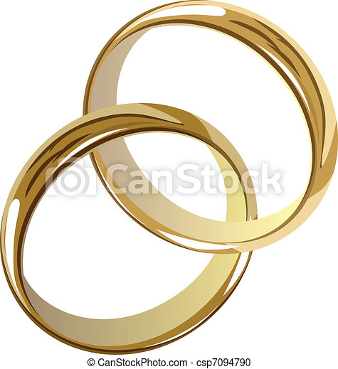mariage, Anneaux - csp7094790