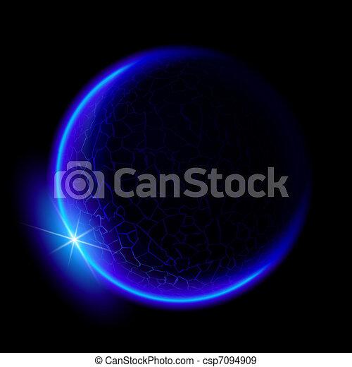 Blue planet - csp7094909
