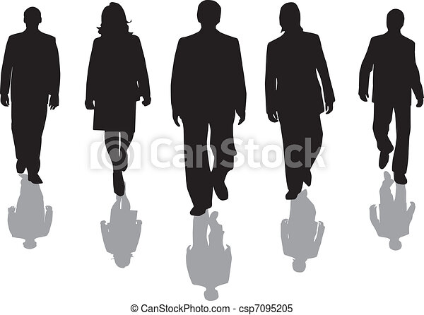 workers silhouette - csp7095205