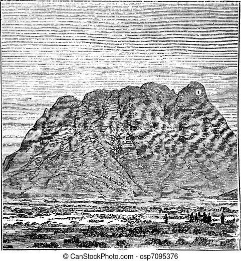 Monte Sinai Clip Art
