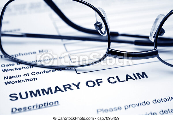 Summary of claim - csp7095459